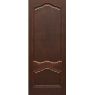Двери массив сосны Амбра ДГ темный орех 15 %