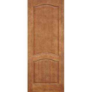 Двери массив сосны Романтика ДГ светлый орех 5%