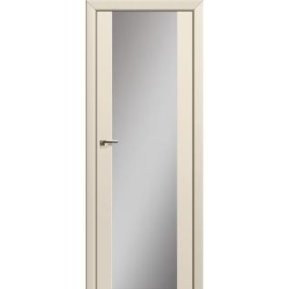 Дверь 8U Магнолия сатинат, зеркальный триплекс