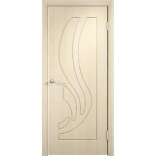 Двери ПВХ Лиана ДГ  беленый дуб