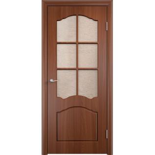 Двери ПВХ Лидия ДО итальянский орех