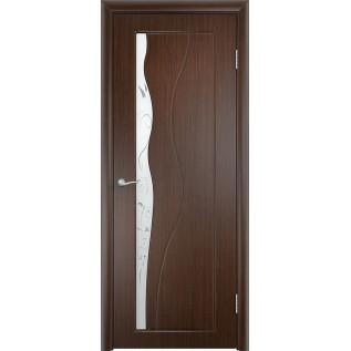Двери ПВХ Бриз ДО венге