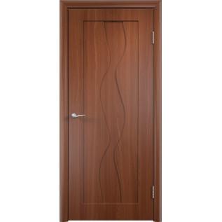 Двери ПВХ Вираж ДГ  итальянский орех