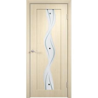 Двери ПВХ Вираж ДО беленый дуб