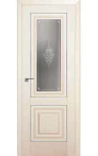 Дверь 28U Магнолия Сатинат