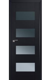 Дверь 46U Чёрный матовый