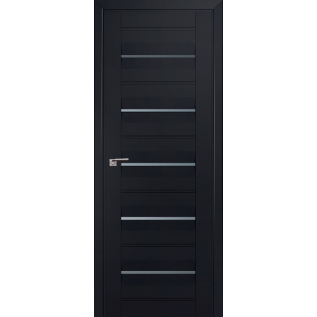 Дверь 48U Чёрный матовый
