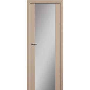 Дверь 8U Капучино, зеркальный триплекс