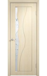 Двери ПВХ Бриз ДО беленый дуб